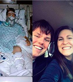 Se negó a desconectar a su marido en coma y este despertó varios meses después