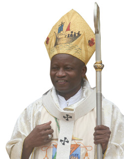 Mons. N´Koue: «Gracias a Dios en Benín la población escucha la voz de la Iglesia»