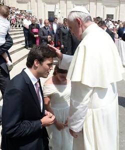 El Papa afirma que la ideología de género es expresión de una frustración que busca borrar la diferencia sexual