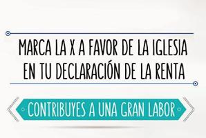 Aumenta el dinero destinado a la Iglesia por los españoles en su Declaración de la Renta