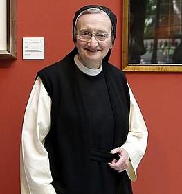 La monja pintora Isabel Guerra retratará al papa Francisco