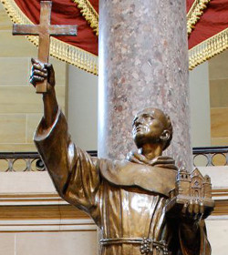 El Papa canoniza a Fray Junípero Serra
