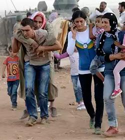 23 mil campanadas para hacerse eco de una súplica: ¡Salvadnos de ISIS!