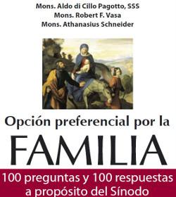 «Opción preferencial por la Familia: 100 preguntas y respuestas acerca del Sínodo»