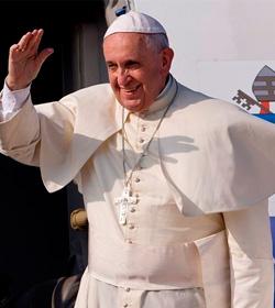 Programa del papa Francisco en su visita a Ecuador, Bolivia y Paraguay