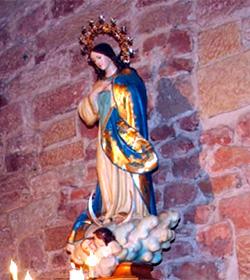 La alcaldesa de Alcázar de San Juan (Ciudad Real) rompe con la tradición de renovar el Voto a la Inmaculada
