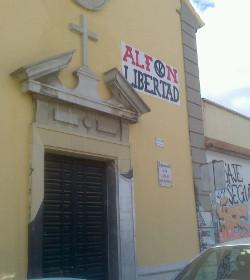 La parroquia roja de Entrevías pide la libertad de un radical de extrema izquierda condenado por tenencia de explosivos