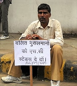 La Iglesia en la India pide una política de ayuda a los dalit