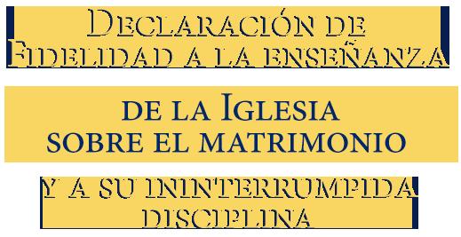 Declaración fidelidad