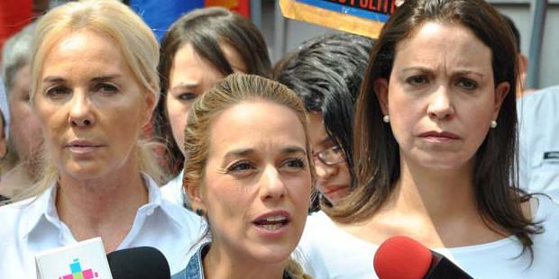 La esposa del preso político Leopoldo López asegura que no hay condiciones para el diálogo en Venezuela