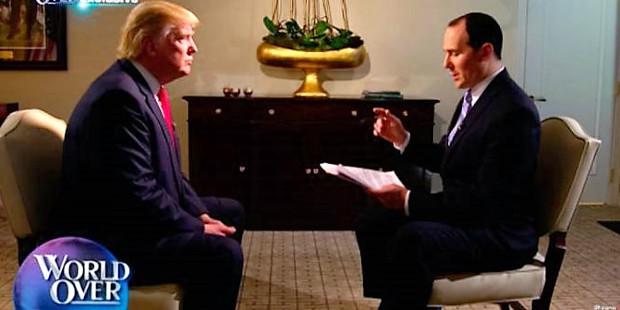 Trump se declara provida en una entrevista en EWTN