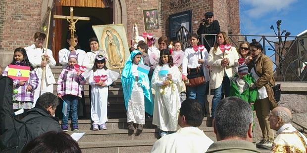 La Iglesia Católica de Noruega crece rápidamente