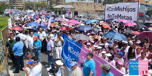 El movimiento «Con Mis Hijos No Te Metas» celebrará marchas en varios países hispanoamericanos y en Francia