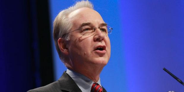 Tom Price nuevo secretario de Salud y Servicios Humanos en Estados Unidos