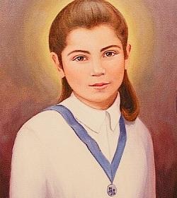 Recordamos a la Beata Laura Vicuña, beatificada por el Papa Juan Pablo II en 1988
