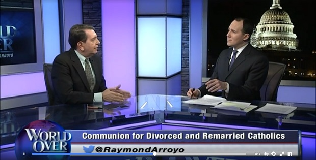 Raymond Arroyo en su programa The World Over