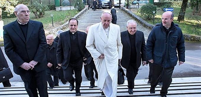 Semana de Ejercicios Espirituales para el Papa y la Curia