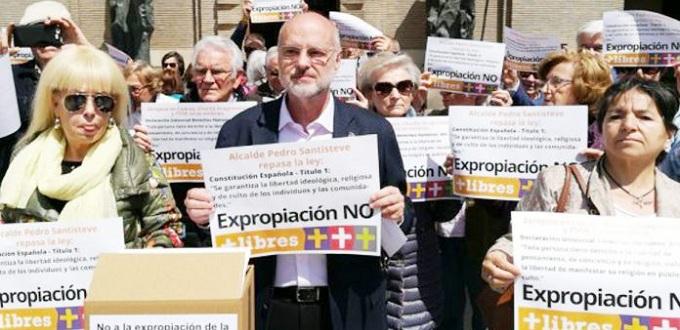 El alcalde podemita de Zaragoza no desiste de la expropiación de la Catedral del Salvador