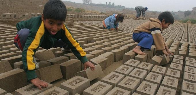 Miles de menores explotados en el campo del trabajo debido a la pobreza y la falta de educación