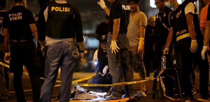 El Estado islámico reivindica el atentado en Yakarta oriental