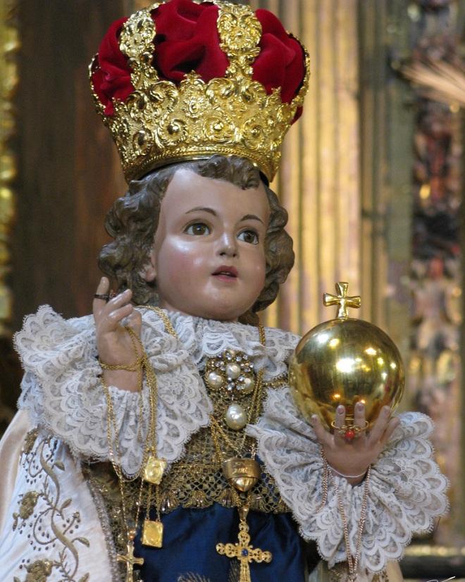 El niño Jesús de Praga