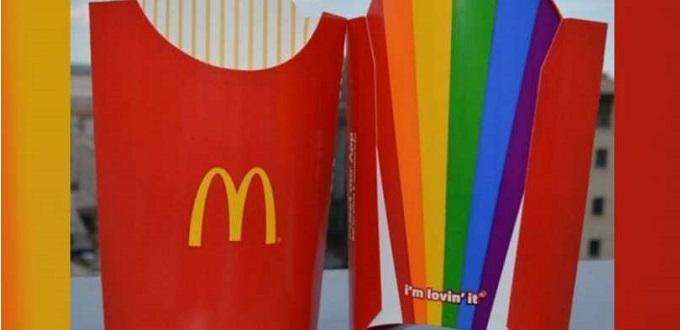 McDonald's presenta sus papas fritas del «orgullo gay»