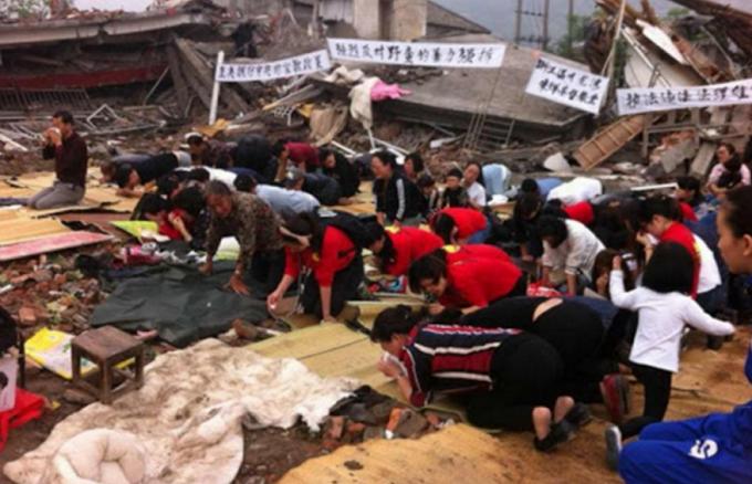 Represión del gobierno chino contra los cristianos