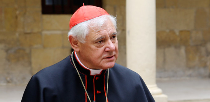 El cardenal Müller advierte que la Iglesia no puede admitir un cambio de paradigma en la fe y la moral