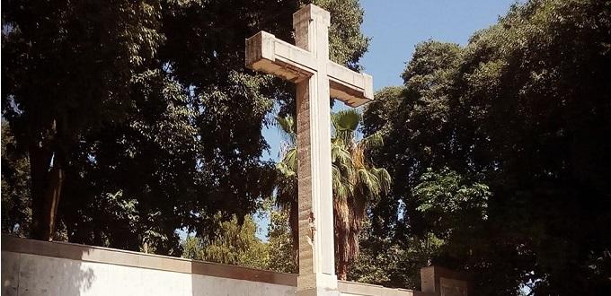 No se retirará la cruz del parque Ribalta