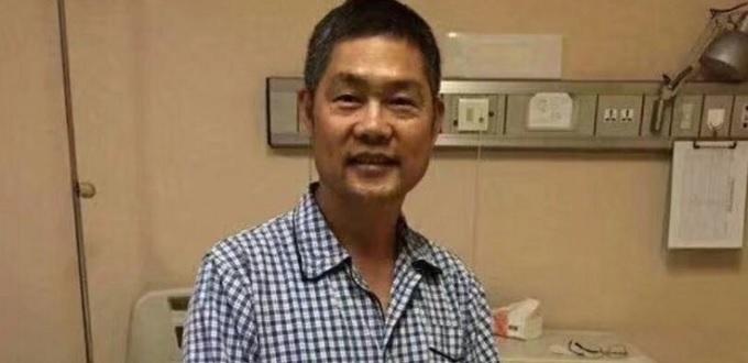 Mons. Pietro Shao Zhumin, hospitalizado en Beijing y bajo vigilancia policial