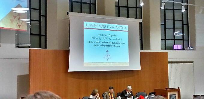 La Gregoriana acoge la charla «Celebración eucarística como ritual desde la perspectiva tántrica»
