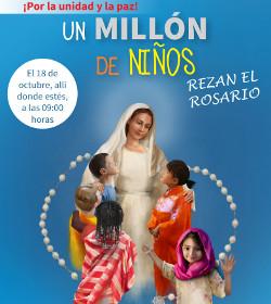 Ayuda a la Iglesia Necesitada pide que un millón de niños recen el Rosario