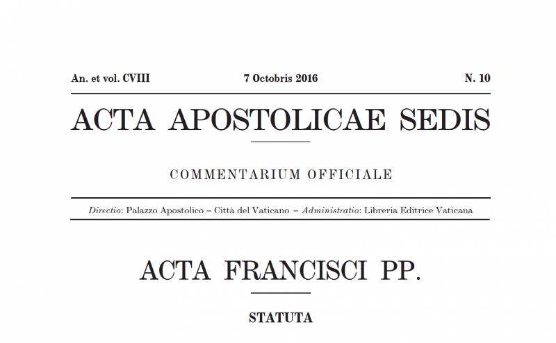Sobre la publicación de la carta del Papa a los obispos argentinos en el AAS