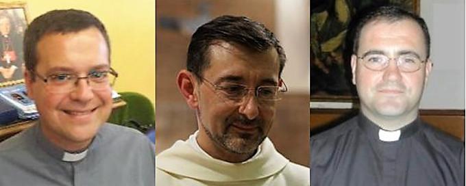 Los sacerdotes José Cobo, Santos Montoya y Jesús Vidal, nuevos obispos auxiliares de Madrid