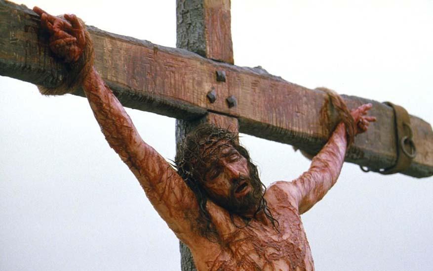 Jim Caviezel en la Pasión de Cristo