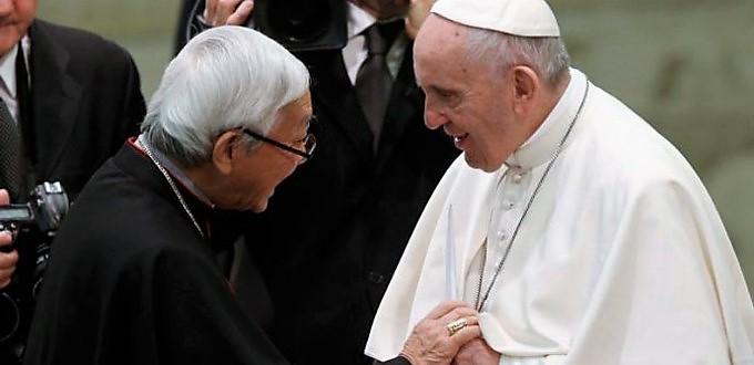 Cardenal Zen escribe carta al Papa sobre los sufrimientos de los católicos chinos tras el pacto con la dictadura