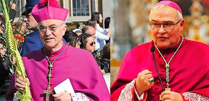 Los arzobispos Vigano y Negri firman la profesión de fe sobre el sacramento del matrimonio de los obispos kazajos