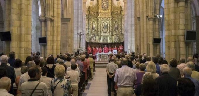 Enfermos de la diócesis de Santander asisten a la jornada mundial del enfermo