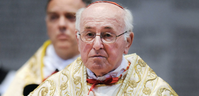 Brandmüller: los obispos alemanes son deshonestos al permitir la comunión de protestantes casados con católicos