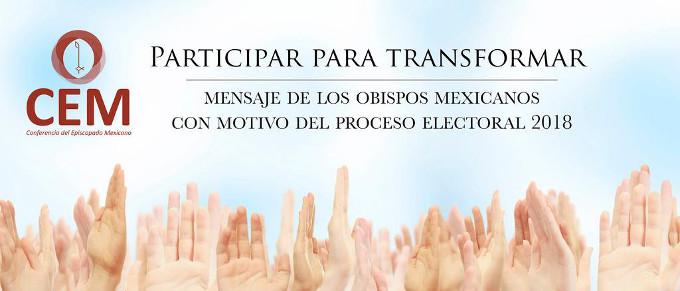 Los obispos mexicanos recuerdan los principios no negociables claves a la hora de votar