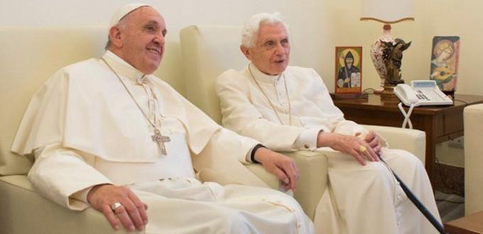 Benedicto XVI asegura que existe continuidad entre su pontificado y el de Francisco