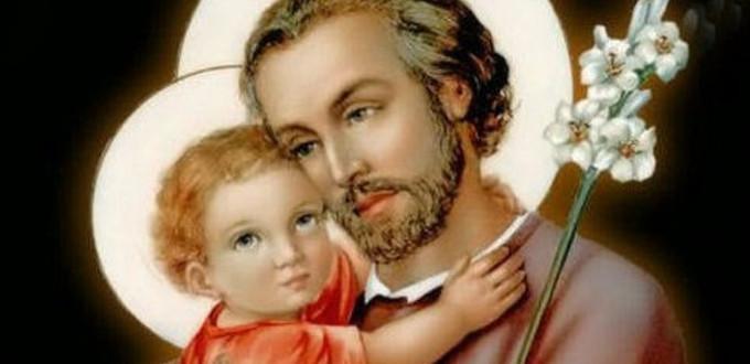 Hoy celebramos a San José, Patrón de la Iglesia universal