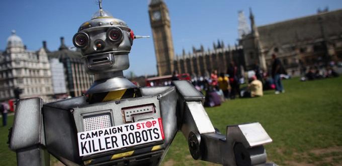 Robots asesinos harán que la guerra sea aún más inhumana
