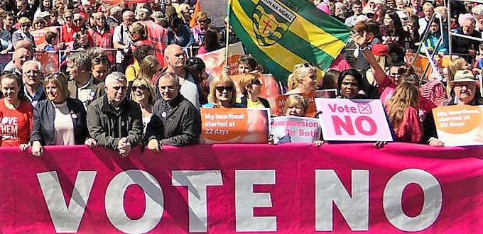 Irlandeses de todo el mundo regresan a su país para votar en el referéndum sobre el aborto