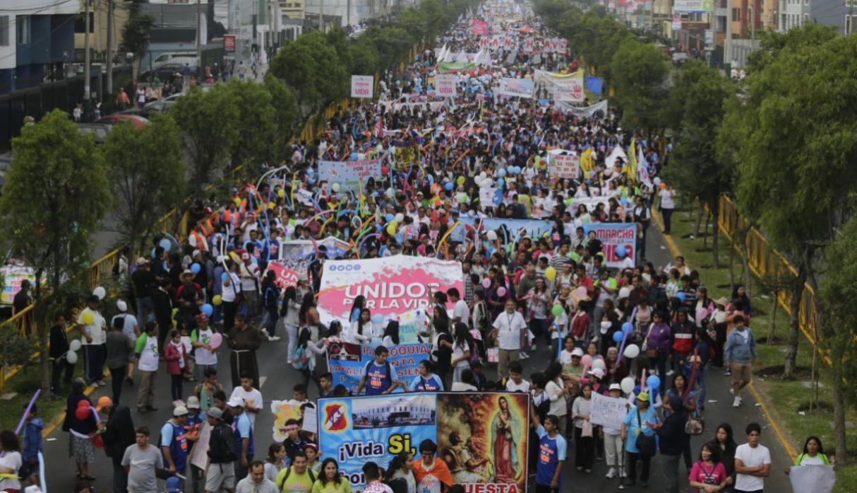Marcha por la vida Lima