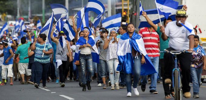 Aumentan las protestas contra el gobierno de Daniel Ortega tras la suspensión de la mesa de diálogo