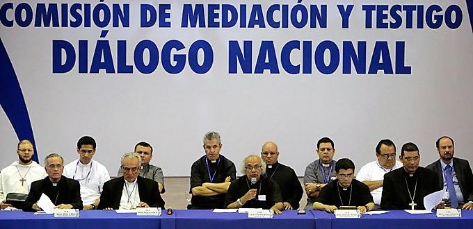 La Conferencia Episcopal de Nicaragua suspende la mesa de diálogo nacional