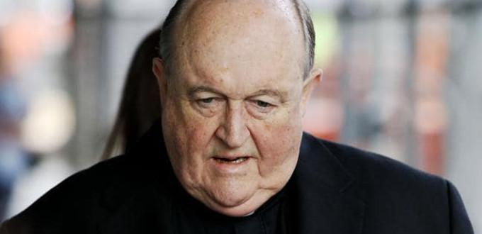 El arzobispo de Adelaida es declarado culpable por encubrir abusos sexuales