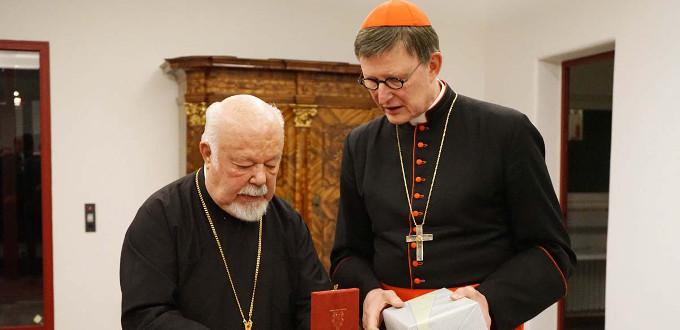El Metropolitano ortodoxo de Alemania da la razón al cardenal Woelki sobre la comunión de protestantes