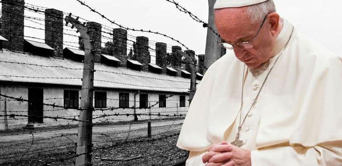 El Papa pide no olvidar nunca el atroz exterminio de un pueblo durante el Holocausto